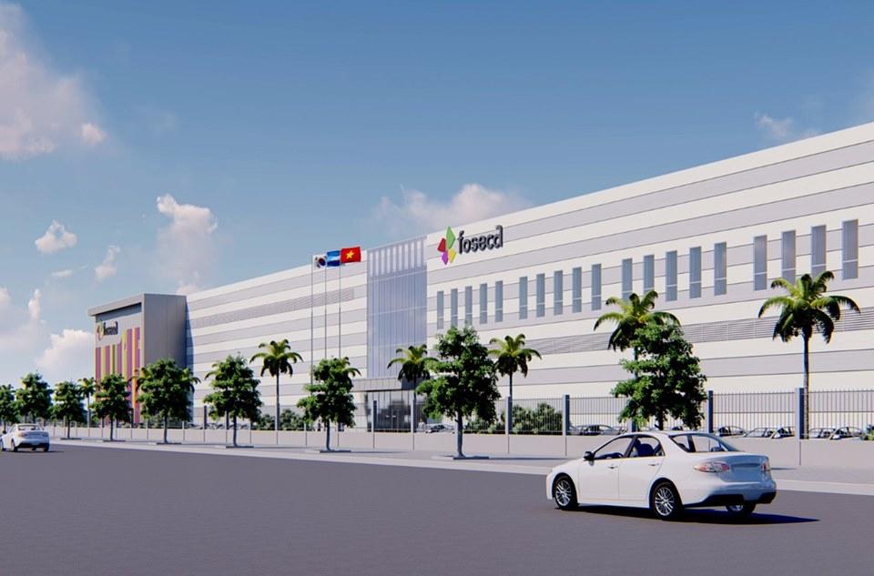 Dự án nhà máy FOSECA Bắc Ninh