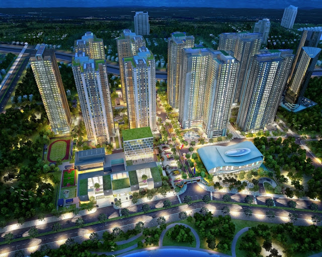 Dự án Tòa nhà Gold Mark Cty - Hồ Tùng Mậu